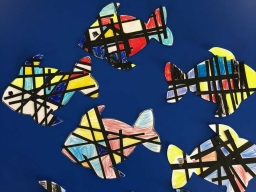 Year 1 Mondrian Fish