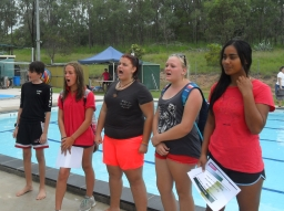 Boyne Wins Swimming Carnival!